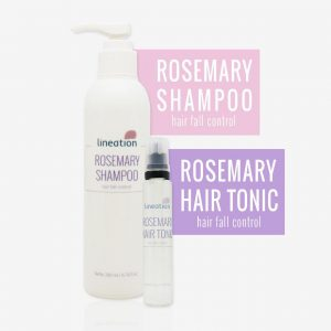 perawatan rambut rontok rosemary lineation salon