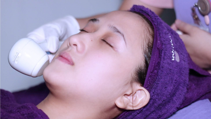 facial double soft di bandung lineation by df clinic