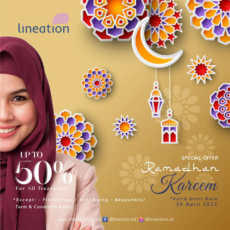 SPECIAL OFFER RAMADHAN KAREEM UP TO 50% FOR ALL TREATMENT